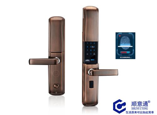 包安装家用指纹锁指纹密码锁智能锁大门锁防盗门遥控锁刷卡锁