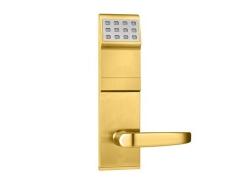 拉丝金卡密码遥控锁